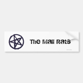 The Mall Rats Tribe Symbol Bumper Sticker