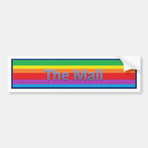 The Mall Style 2 Bumper Stickers