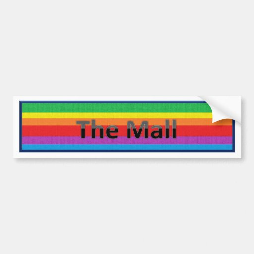 The Mall Style 3 Bumper Stickers