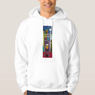 The Man and his dog every day in Portobello Road Hoodie