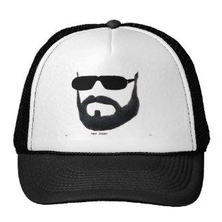The Man beard Lid by da vy Mesh Hat