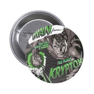 The Man from Krypton 6 Cm Round Badge