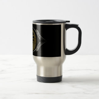 The Man in the Maze - Tribal gold silver Mugs