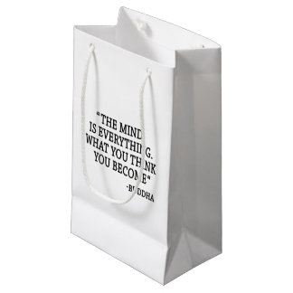 The Man Is Everything Small Gift Bag