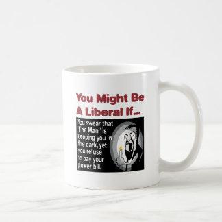 """The Man"" keeps you in the dark Coffee Mug"