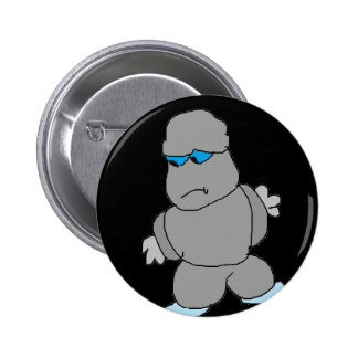 The Man made of Rocks Pinback Buttons