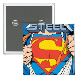 The Man of Steel 1 Collector s Edition Buttons