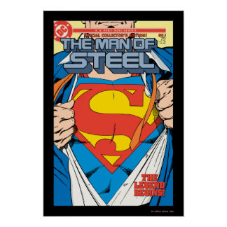 The Man of Steel 1 Collector s Edition Poster
