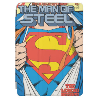 The Man of Steel #1 Collector's Edition iPad Air Cover