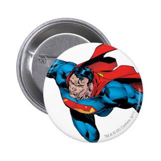 The Man of Steel Comic Style 6 Cm Round Badge