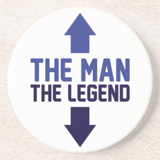 The Man The Legend Coaster