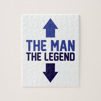 The Man The Legend Jigsaw Puzzle