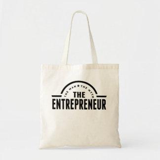 The Man The Myth The Entrepreneur Budget Tote Bag