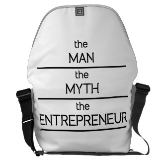 The Man The Myth The Entrepreneur Courier Bag