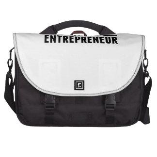 The Man The Myth The Entrepreneur Laptop Commuter Bag