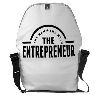 The Man The Myth The Entrepreneur Commuter Bag