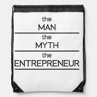 The Man The Myth The Entrepreneur Rucksacks