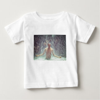 The man under the Waterfall Baby T-Shirt