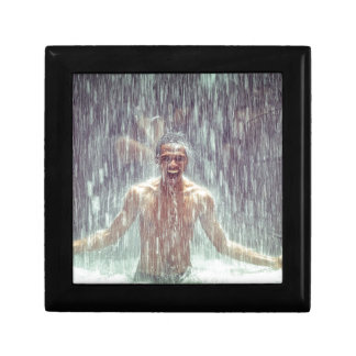 The man under the Waterfall Gift Box