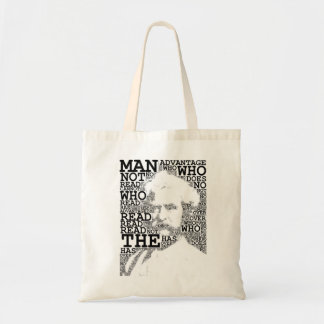 The Man Who Does Not Read Tote