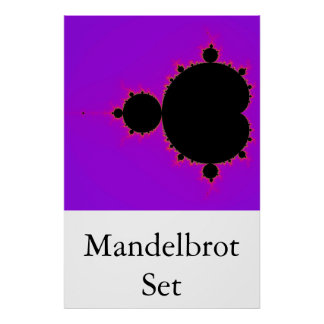 The Mandelbrot Set (Full) Poster
