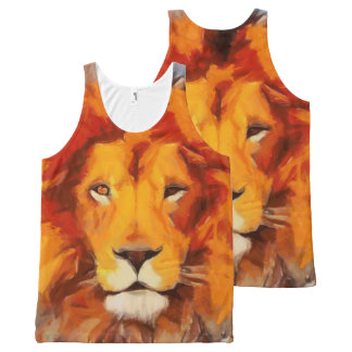 The Mane Event All-Over Print Singlet