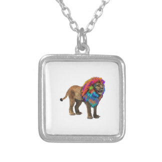 The Mane Event Silver Plated Necklace