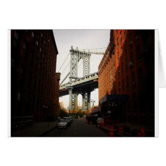 The Manhattan Bridge, A Street View Card