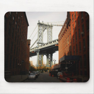 The Manhattan Bridge, A Street View Mouse Pad