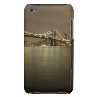 The Manhattan Bridge, East River at Night Barely There iPod Case