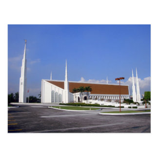 The Manila Philippines LDS Temple Postcard