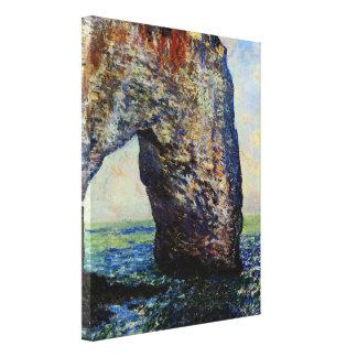 The Manneporte, Etretat, II Canvas Print
