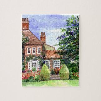 The Manor House, Heslington, York Jigsaw Puzzle