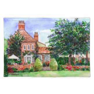 The Manor House, Heslington, York Placemat