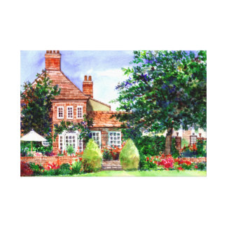 The Manor House Wall Art Canvas Print