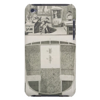 The manufacture of a sedan chair in a coachbuilder iPod Case-Mate cases