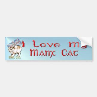 The Manx Cat Bumper Sticker