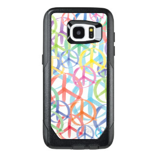 The Many Colors of Peace Signs OtterBox Samsung Galaxy S7 Edge Case