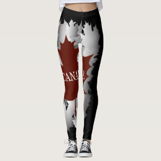 The Maple Leaf Leggings