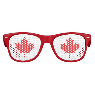 The Maple Leaf, National Symbol of Canada Kids Sunglasses