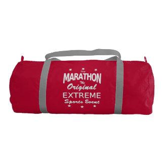 The MARATHON, the original extreme sports event Gym Duffel Bag