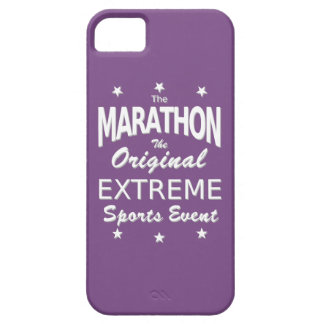 The MARATHON, the original extreme sports event iPhone 5 Covers