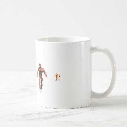 The March of the Brick Men Coffee Mugs