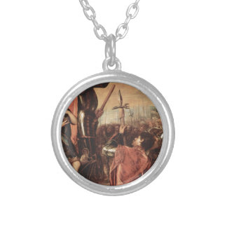 The Marchese del Vasto Addressing his Troops Round Pendant Necklace