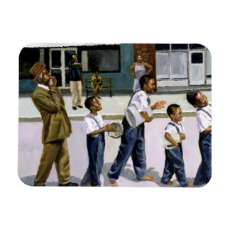 The Marching Band 2000 Rectangular Photo Magnet