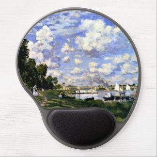 The Marina at Argenteuil Gel Mouse Pad
