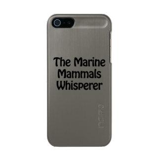 the marine mammals whisperer incipio feather® shine iPhone 5 case