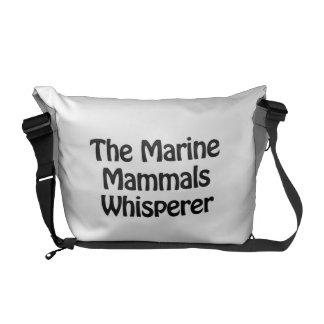 the marine mammals whisperer commuter bags