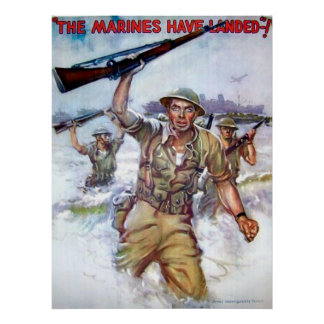 The Marines Have Landed! Poster