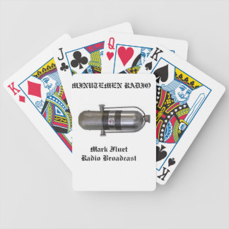 The Mark Fluet Radio Broadcast Playing Cards